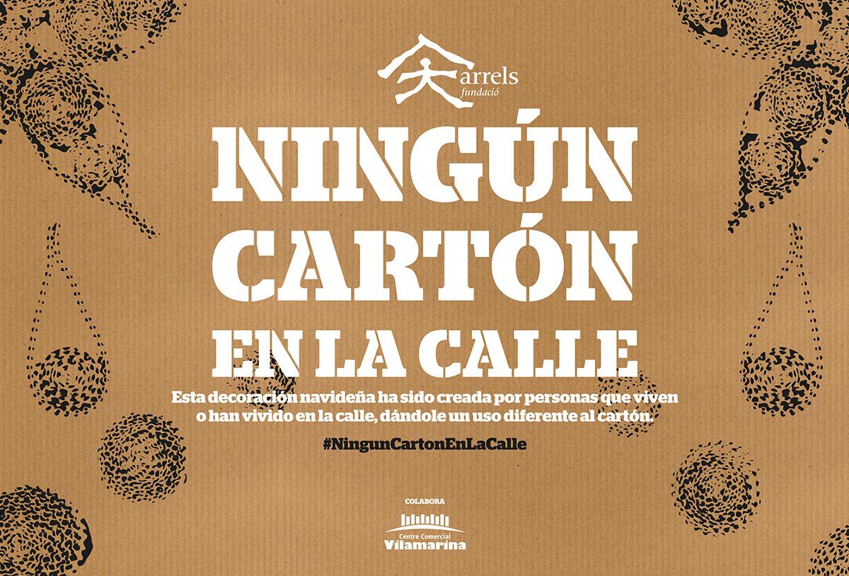 Fundació Arrels - Ningún cartón en la calle - imagen navidad